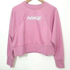 NIKE Dri FIT Sweatshirt Dry Fit Hoodie Top Sweater